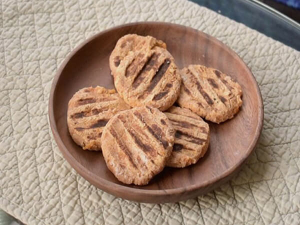 Rán bánh khoai lang yến mạch