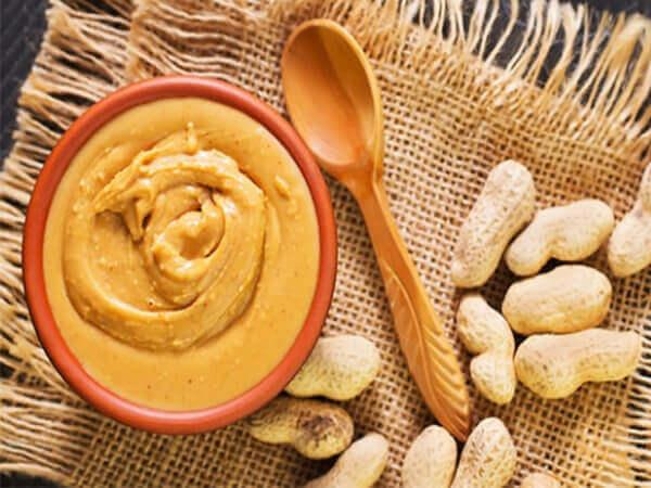Nguyên liệu làm bánh giảm cân bằng yến mạch với bơ đậu phộng