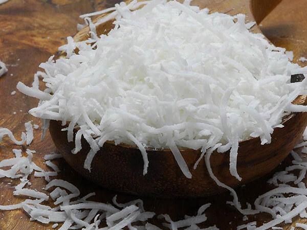 Nguyên liệu làm bánh keto dừa nướng