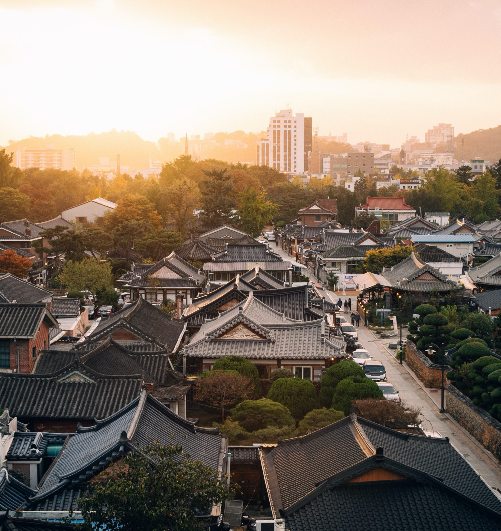 Picture of a City in South Korea