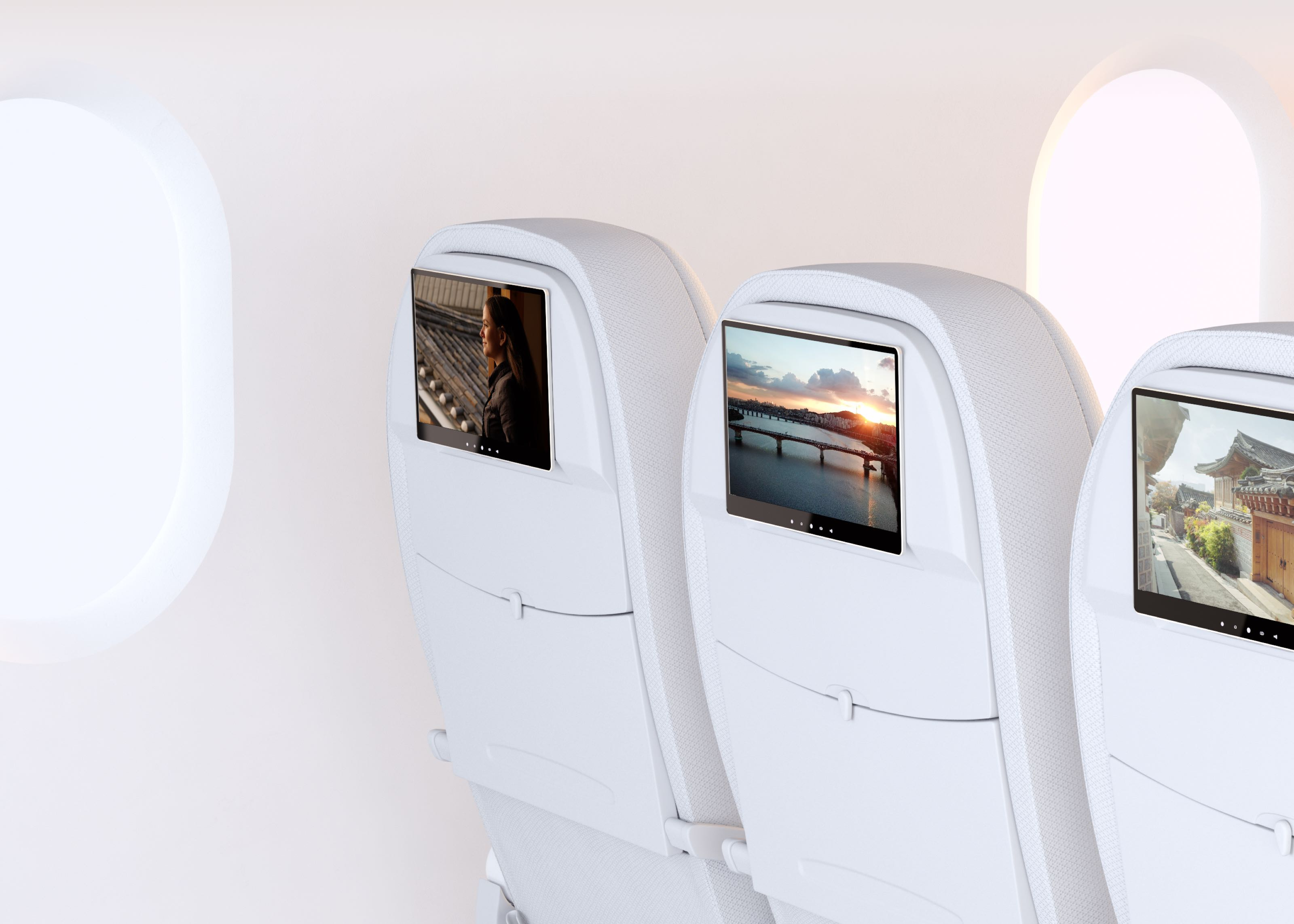 In-Seat System of an Aircraft Cabin