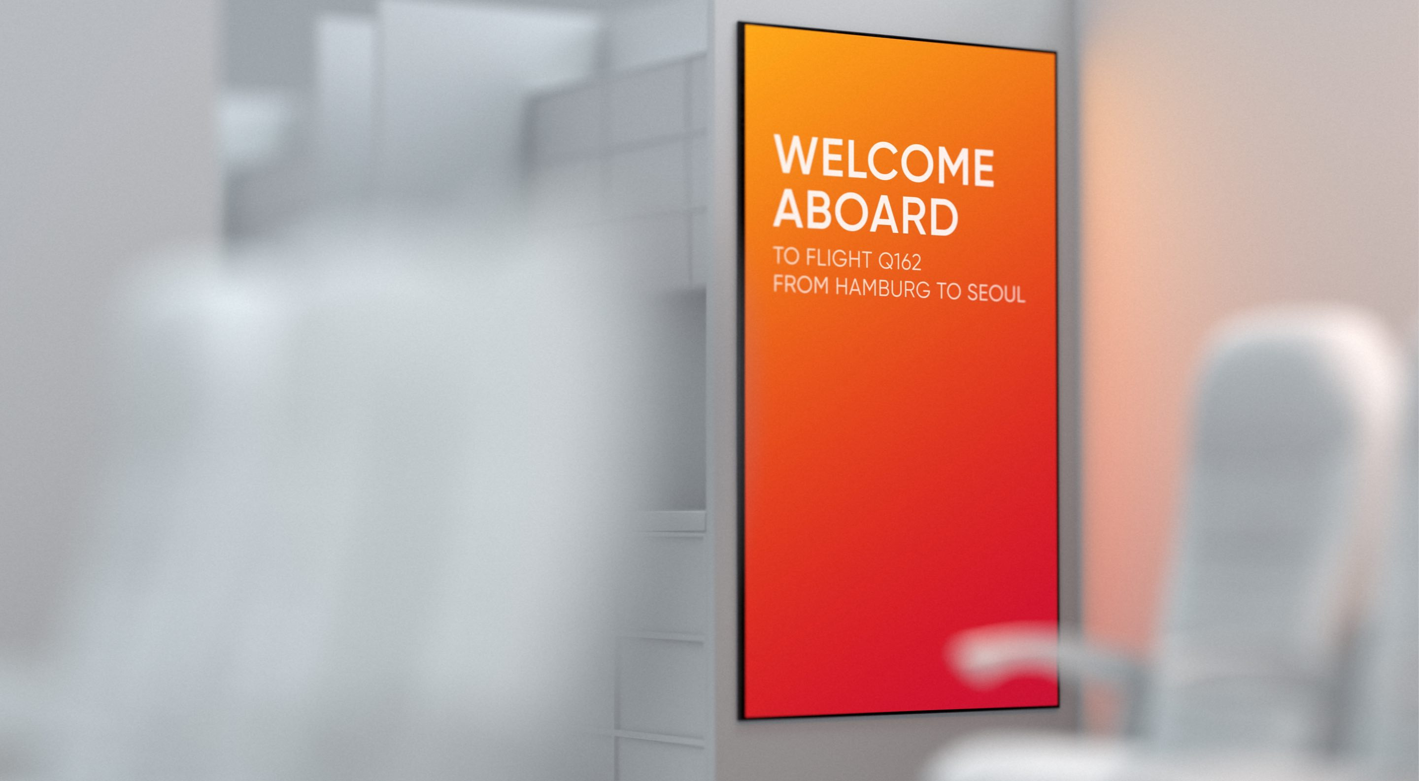 AERQ Welcome Board