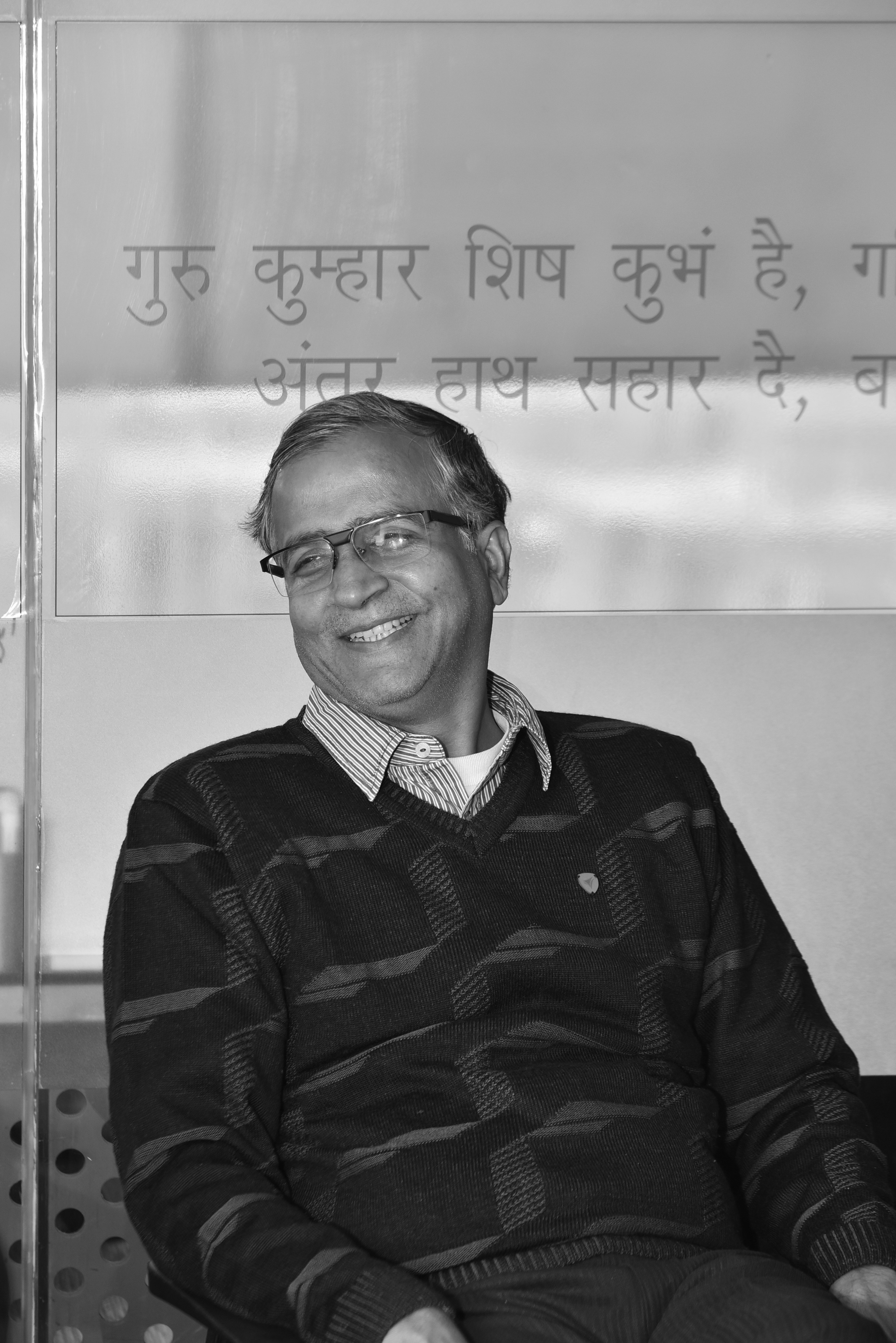 Rajat Jain black and white