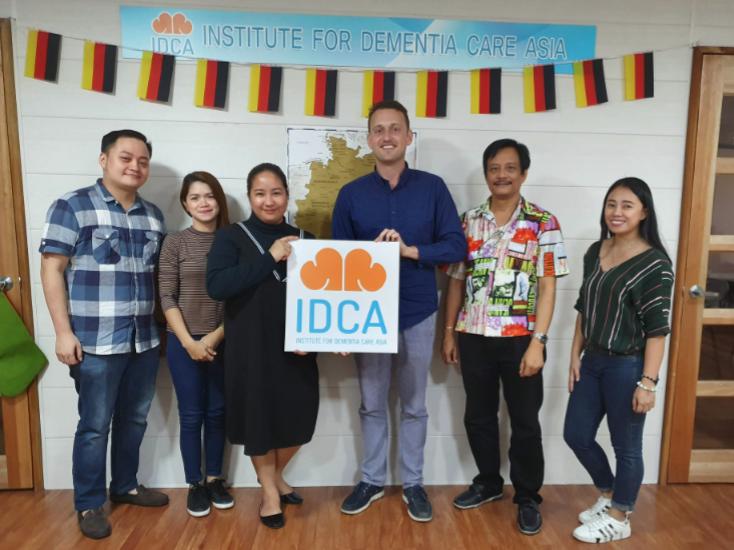 Deutschunterricht in einer Schule in den Philippinen