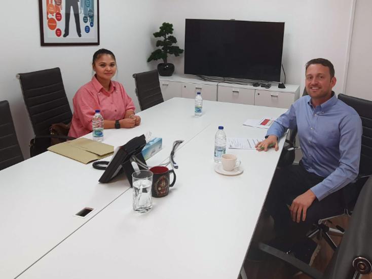 Rekrutierungsveranstaltung in den Vereinigten Arabischen Emiraten