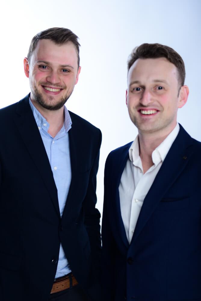 Andreas Schick und Peter Beck
