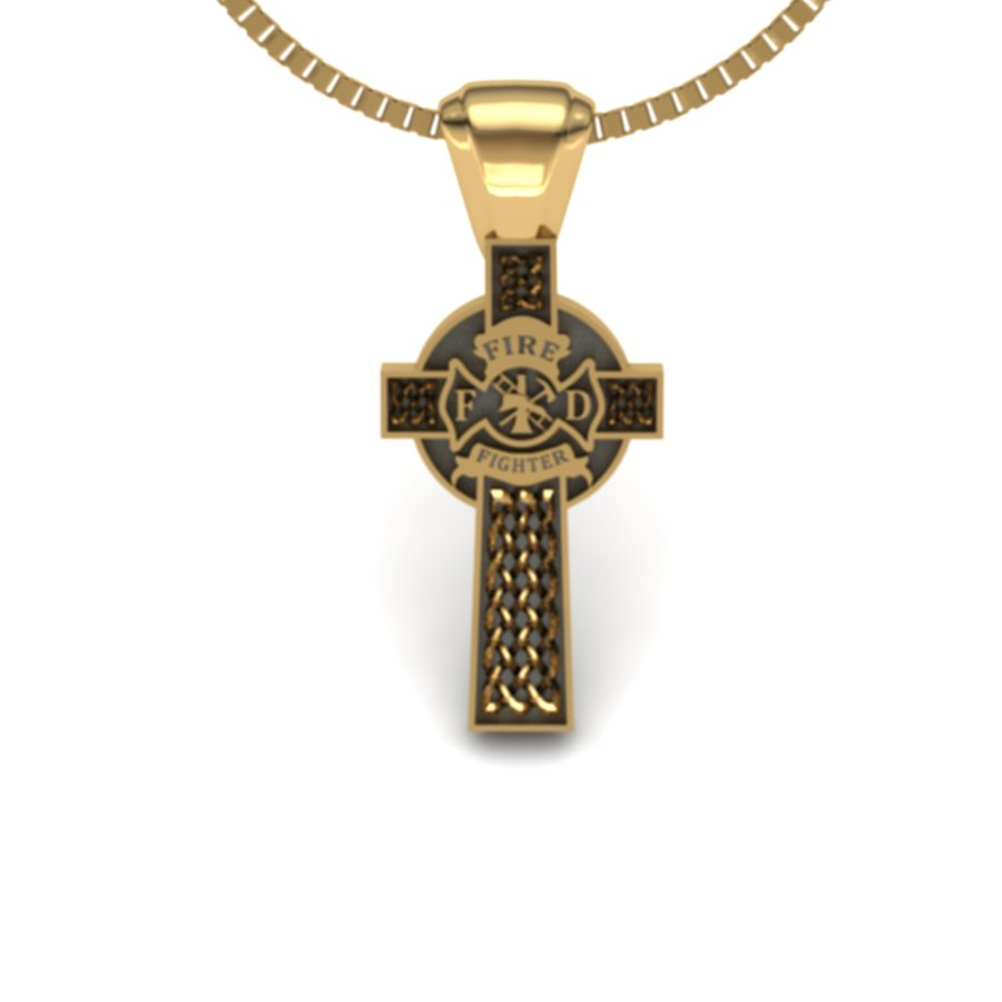 Fire Fighter Cross-Large