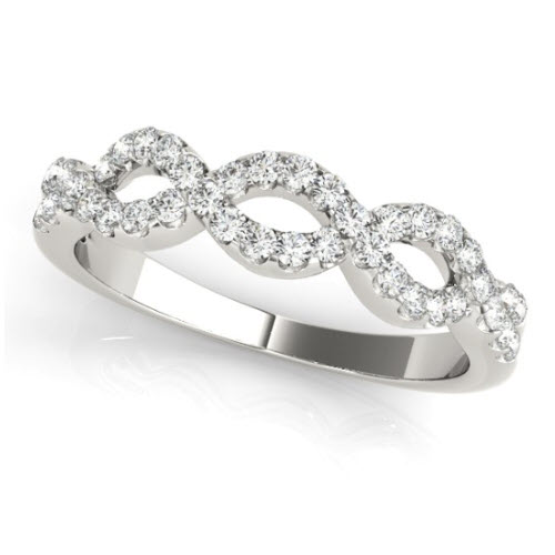 Amya Diamond/Moissanite Ring