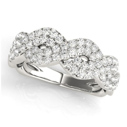 Amiyah Diamond/Moissanite Ring