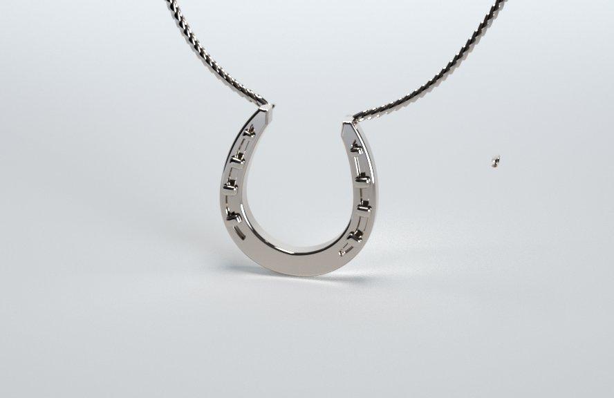 Horseshoe-3 Pendant
