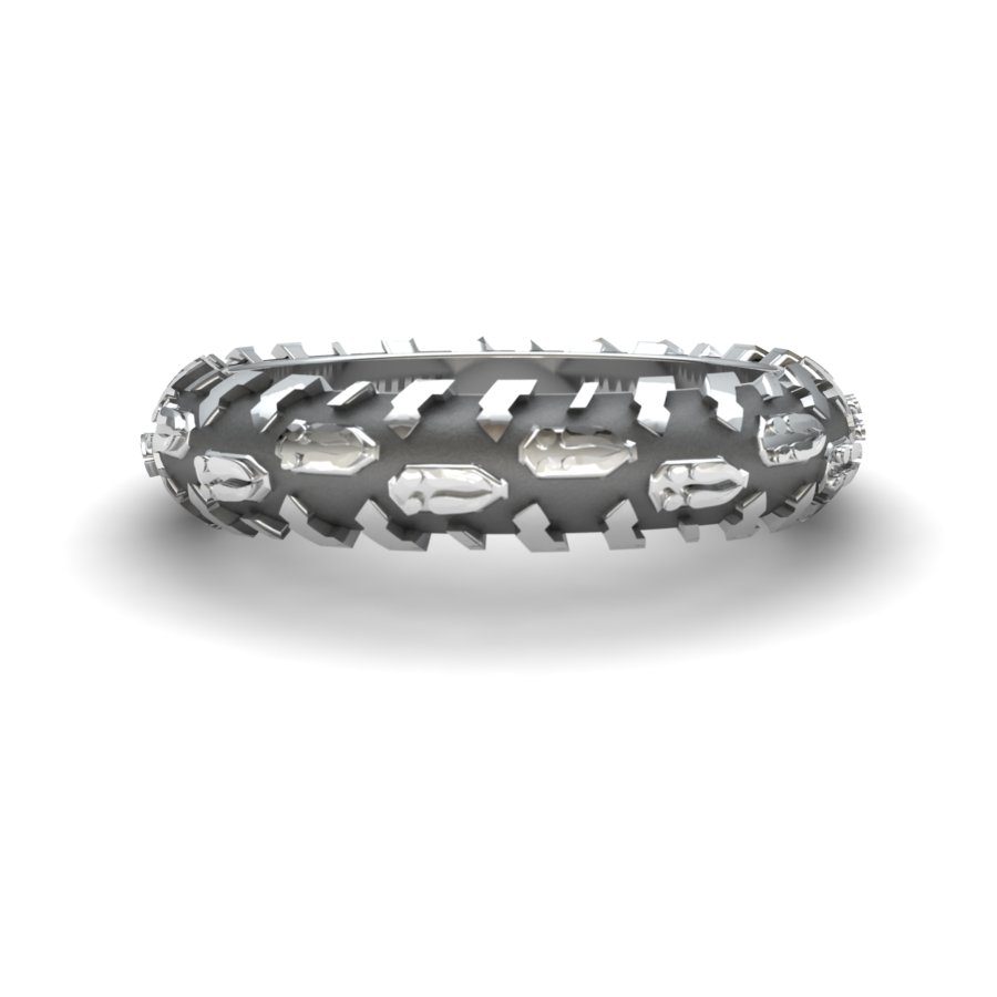 Deer Print Tire Ring-6mm