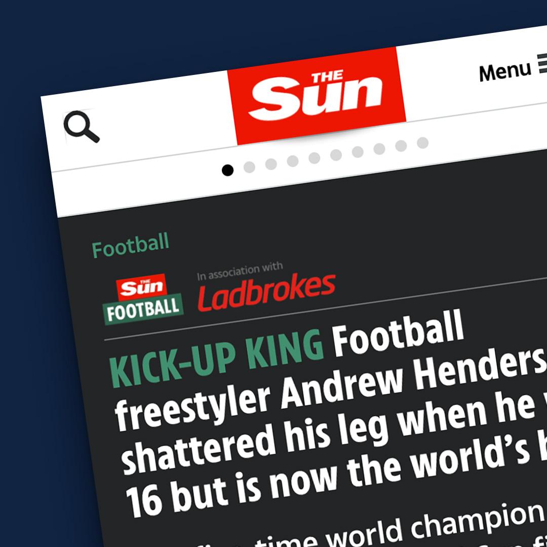 The Sun newspaper article