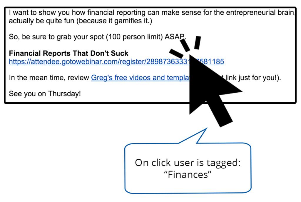 Segmenting Link Clicks