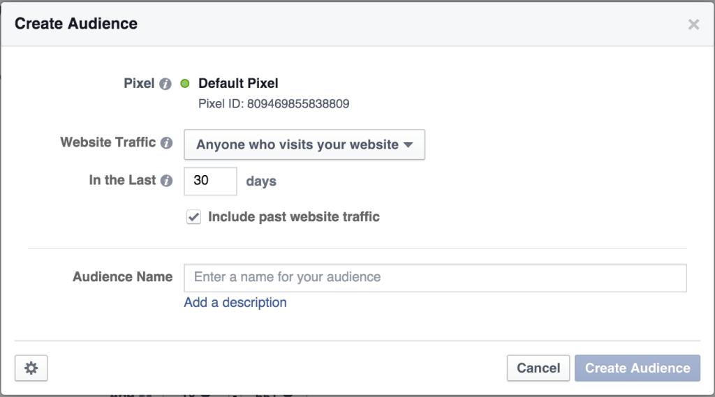 Facebook Ads Custom Audience Pixel