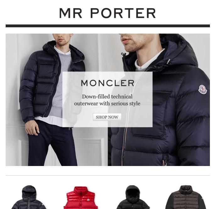 Mr Porter Email Marketing