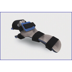 Resting Hand with Finger Separator Orthosis