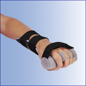 Contour Hand with Finger Separators