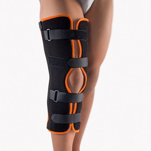 Immobilisation Splint with Patella Recess