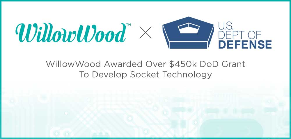 WillowWood Global is excited to announce the award of a Department of Defense grant for utilizing the company's Alpha SmartTemp® platform, to research material additives and improve the thermal properties of prosthetic socket technology.