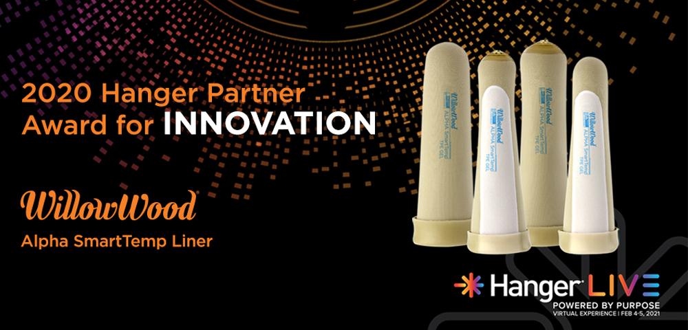2020 Hanger Partner Award for Innovation