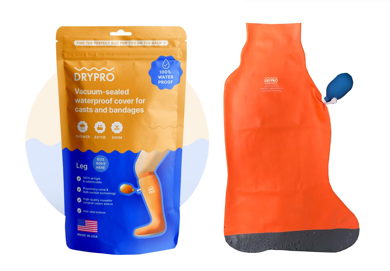 DRYPRO Waterproof Leg Cast & Wound Cover
