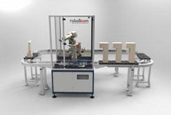 Roboticom carver with conveyor belt system