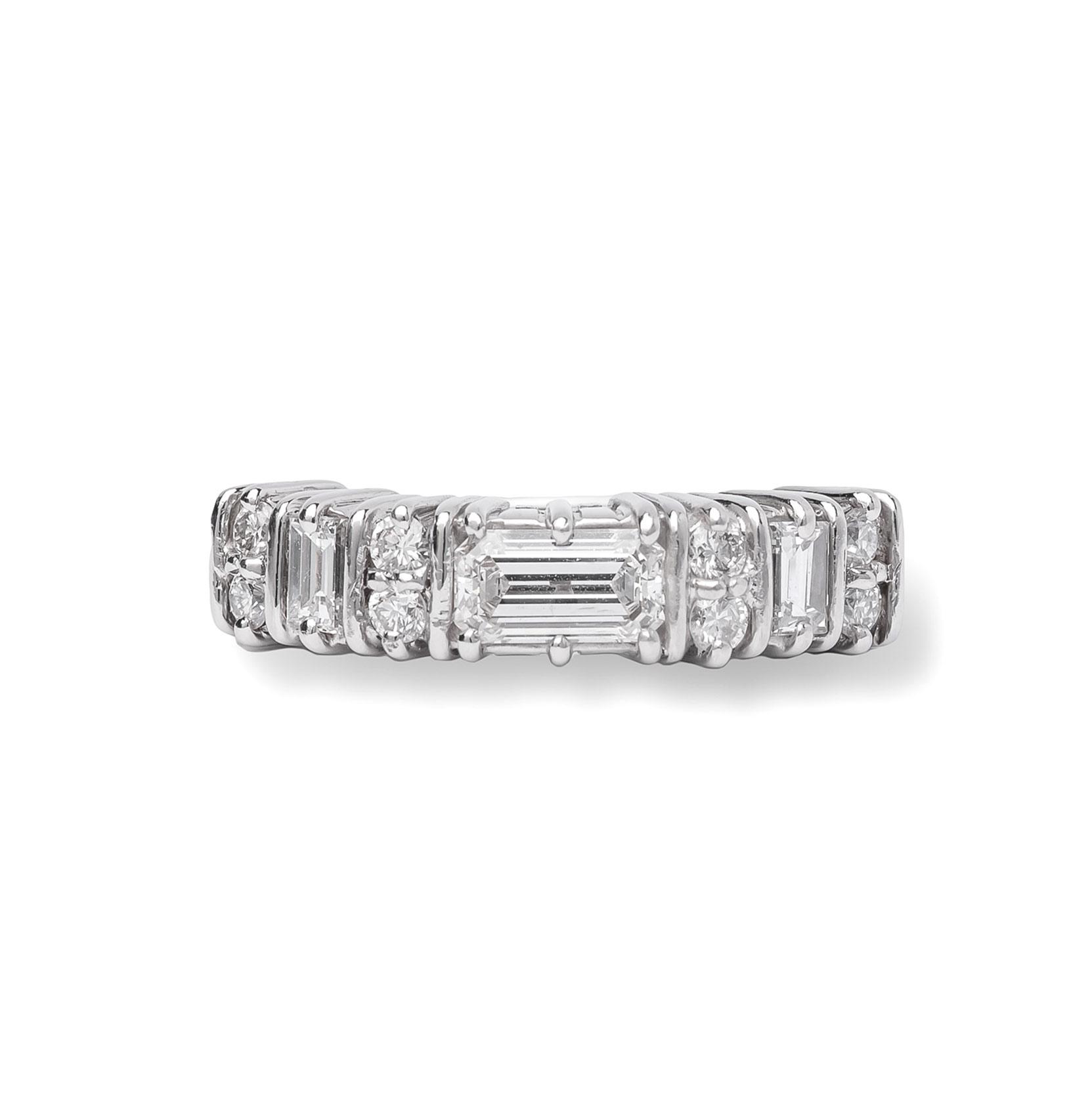 Βέρα 950 Πλατίνα με Διαμάντια