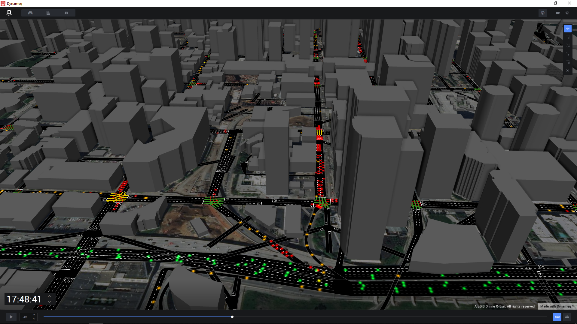 Dynameq City-Scale Traffic Simulation Software