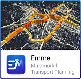 Emme multimodal transport planning software