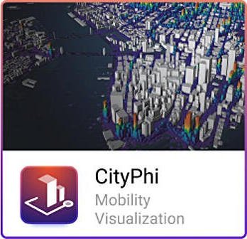 CityPhi mobility animation software