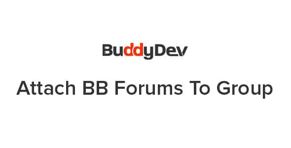 Attach BB Forums To Group
