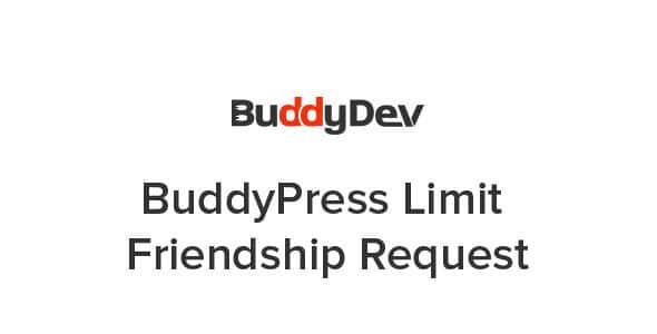 BuddyPress Limit Friendship Request