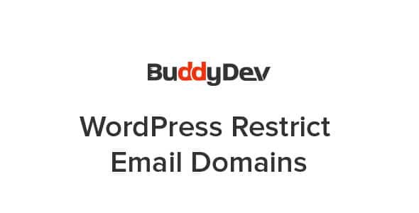 WordPress Restrict Email Domains