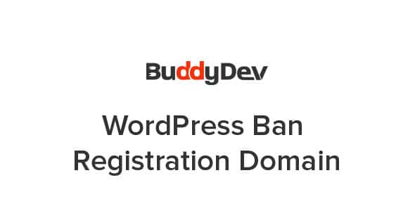 WordPress Ban Registration Domain