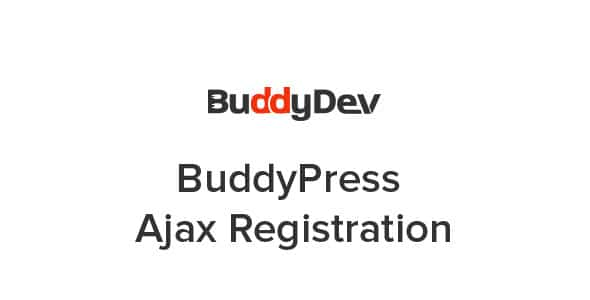 BuddyPress Ajax Registration