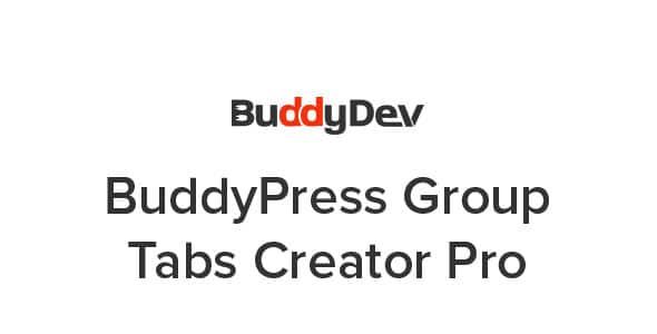 BuddyPress Group Tabs Creator Pro