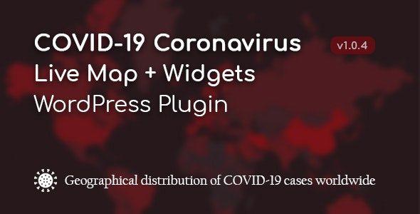 COVID-19 Coronavirus — Live Map & Widgets For WordPress