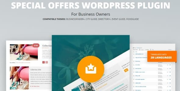 Special Offers WordPress Plugin