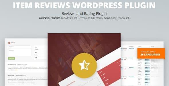 Item Reviews WordPress Plugin
