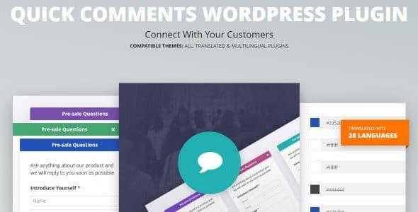 Quick Comments WordPress Plugin
