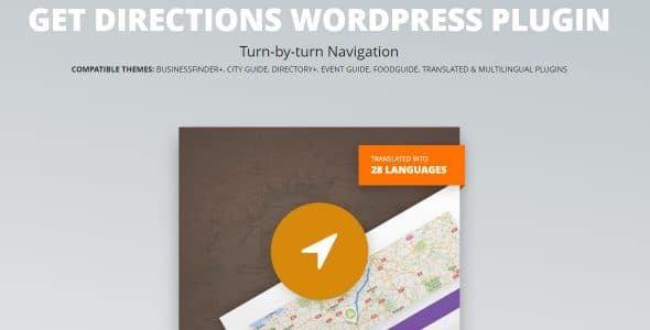 Get Directions WordPress Plugin