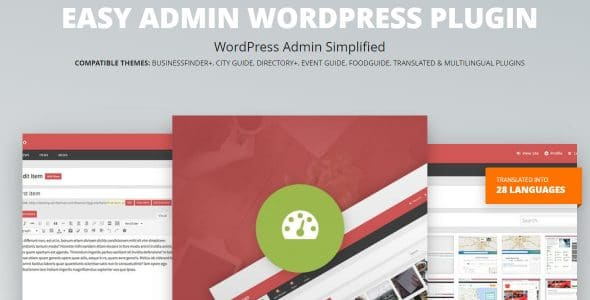 Easy Admin WordPress Plugin