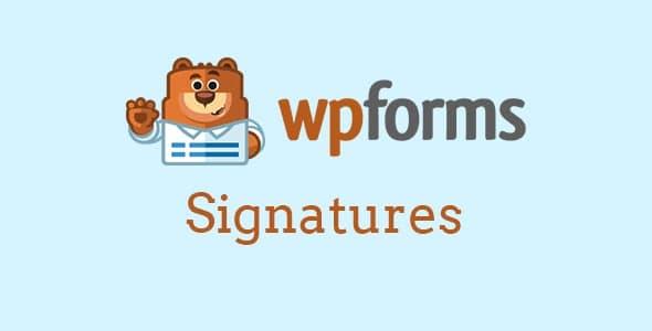 WPForms WPForms Signatures