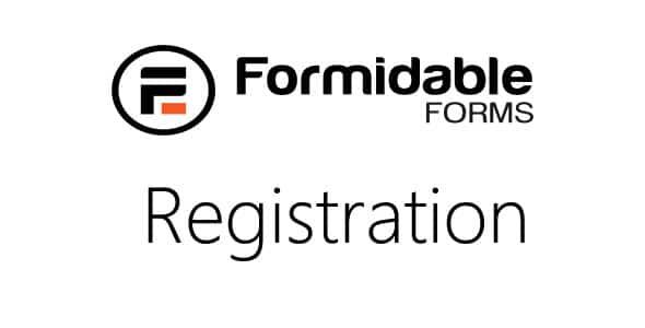 Formidable Registration