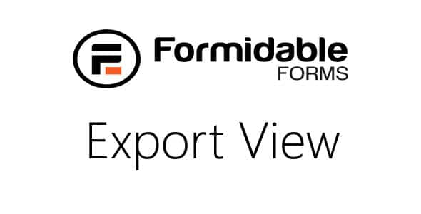 Formidable-Export-View-to-CSV