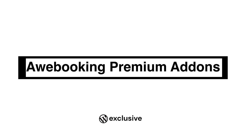 Awebooking Premium Addons