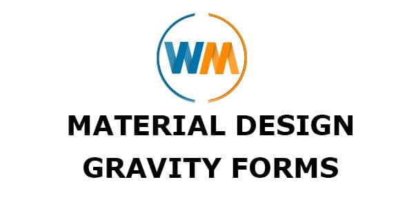 WPMonks – Material Design For Gravity Forms