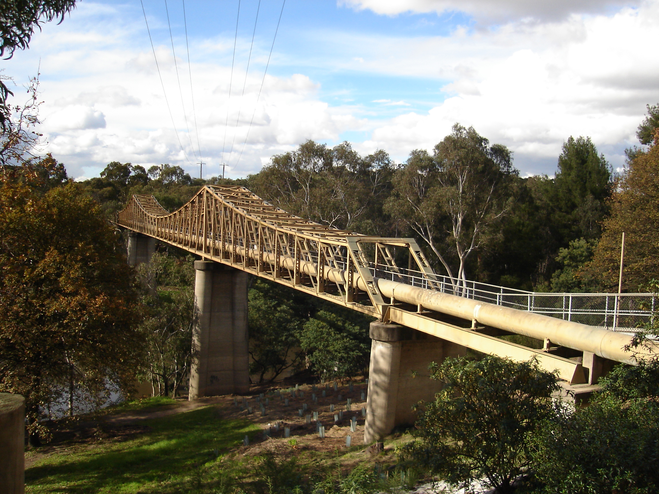 The Fairfield Pipe Bridge