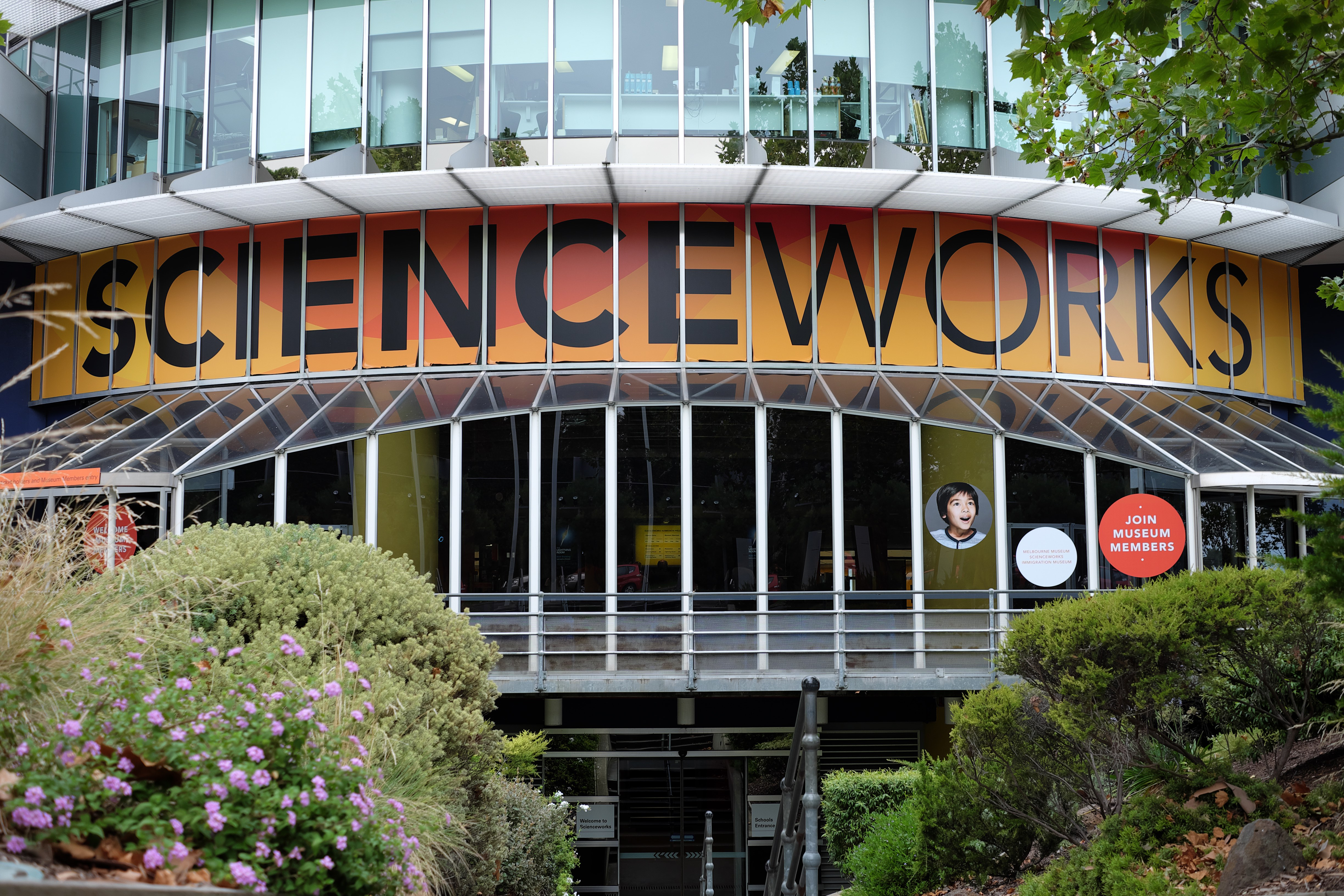 The front of Scienceworks Melbourne