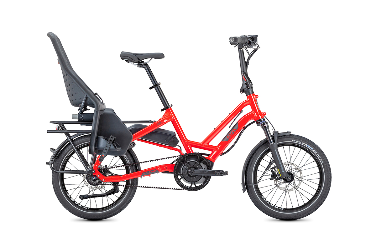 red Tern HSD with one Thule Yepp Maxi child seat
